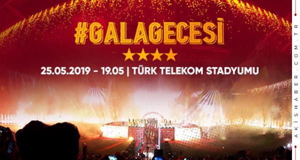 Galatasaray #GalaGecesi ne zaman? Kupa töreni bilet fiyatları ne kadar?