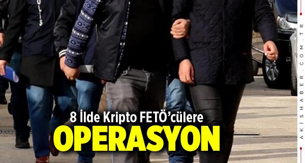 Denizli Merkezli FETÖ Operasyonu: 20 Gözaltı