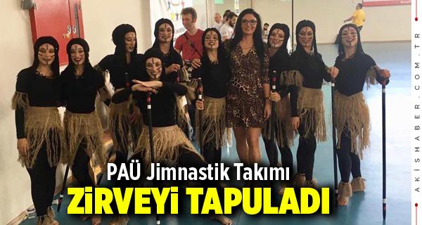 PAÜ Jimnastik Takımı Zirveyi Tapuladı