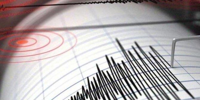 Afyonkarahisar'da olan deprem korkuttu