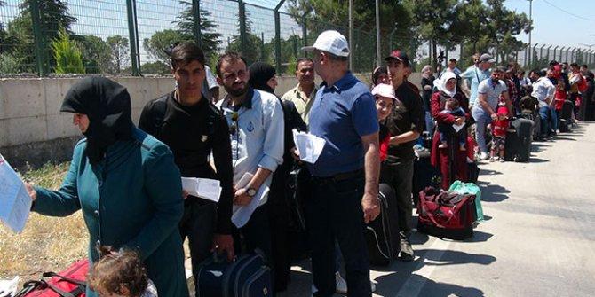 Suriyeliler bayramda dinlenip geri geliyorlar