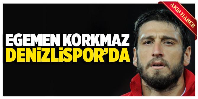 Egemen Korkmaz resmen Denizlispor'da