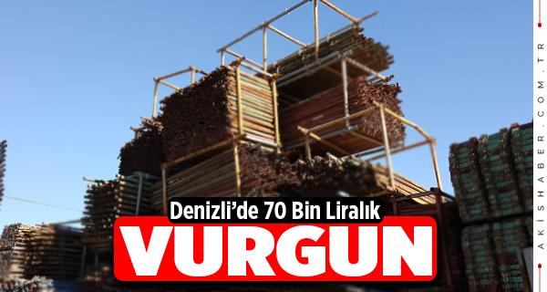 Denizli'de 70 Bin TL'lik Vurgun