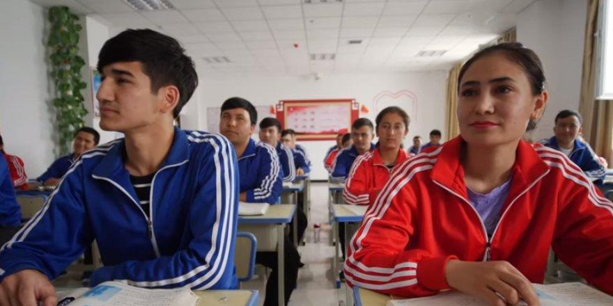İşte Çin'deki Uygur Türkleri'nin toplama kampları!