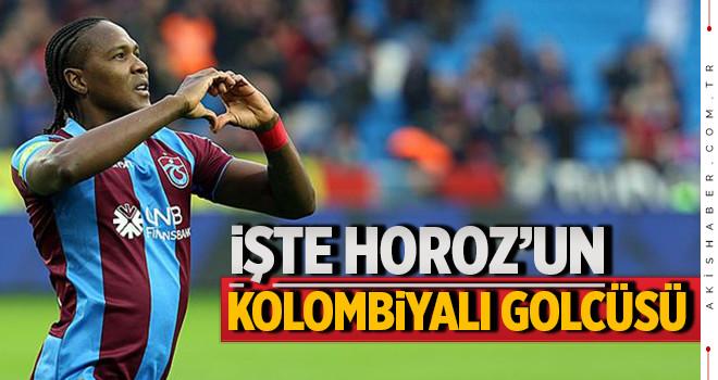 Kolombiyalı golcü Rodallega Denizlispor'da
