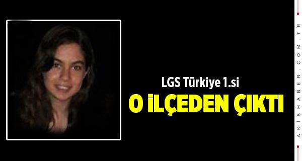 Türkiye 1.si O İlçeden Çıktı