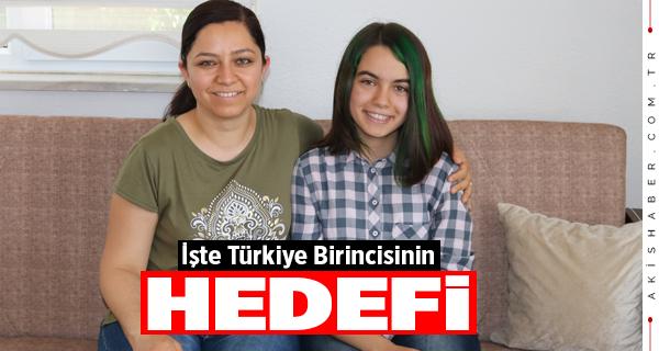 İşte Türkiye Birincisi Kübra'nın Hedefi