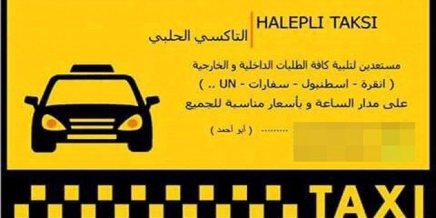 Suriyeliler korsan taksiciliğe başladı.