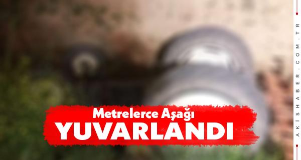 Denizli'de Traktör Kazası: 1 Yaralı