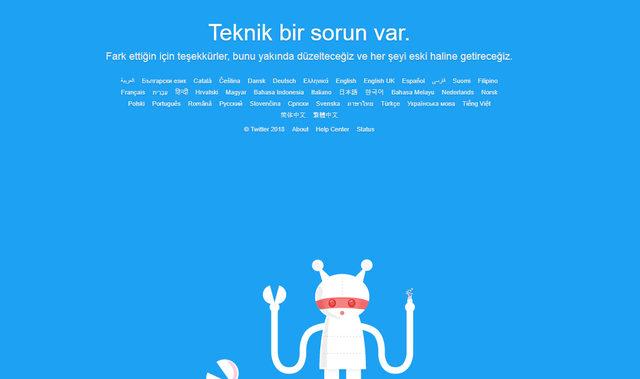 Twitter çöktü mü? Twitter teknik bir sorun var hatası nasıl giderilir?