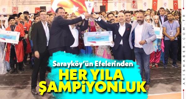 Sarayköy'ün Efelerinden Her Yıla Şampiyonluk