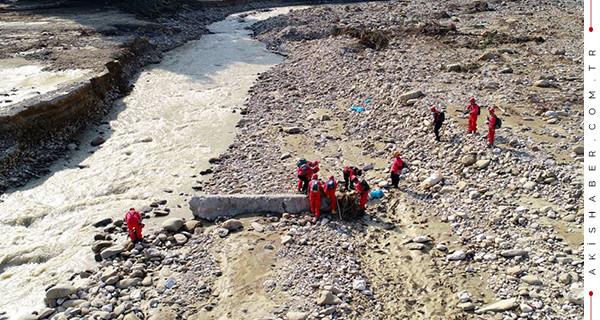 Akçakoca'da 1 kişinin daha cesedine ulaşıldı
