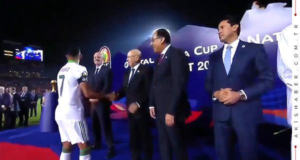 Riyad Mahrez'den Mısır'a tepki!
