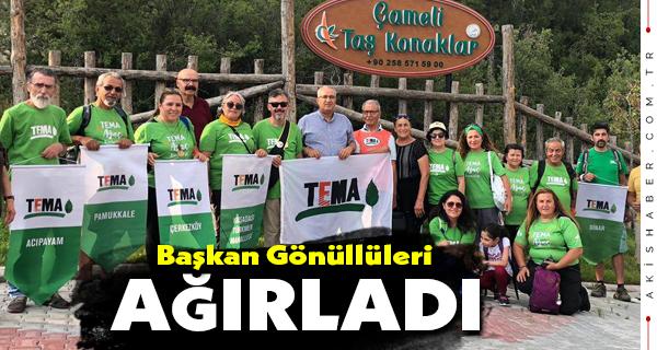 Başkan Arslan Gönüllüleri Ağırladı