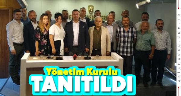 İYİ Parti Merkezefendi'de Yönetim Kurulu Tanıtıldı