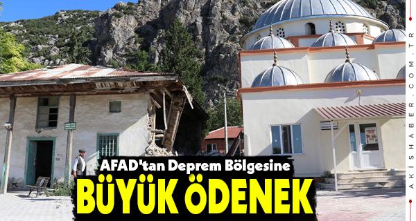 AFAD'tan Deprem Bölgesine Büyük Ödenek