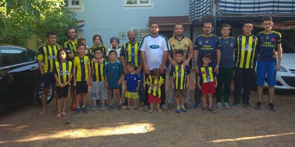 Tavaslı Tekkoyun ailesinin tamamı Fenerbahçeli