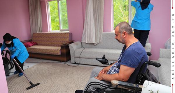 Pamukkale Belediyesi Yaşlı ve Engelli Vatandaşları Unutmuyor
