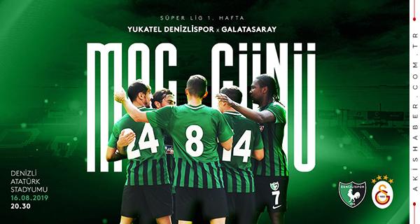 İşte Denizlispor'un Galatasaray muhtemel 11'i