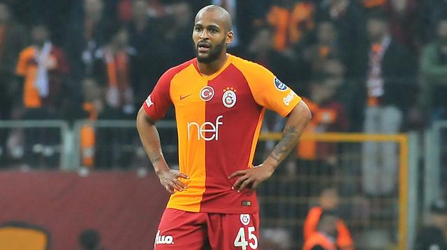Galatasaray'da Marcao'ya kırmızı kart