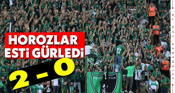 Denizlispor - Galatasaray Maç Sonucu
