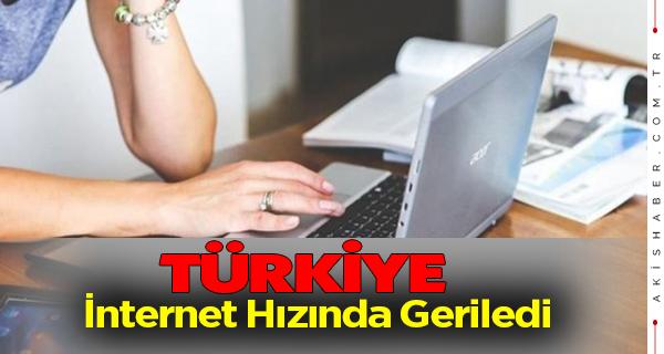 İnternet Hızında Türkiye 102. Basamağa Geriledi