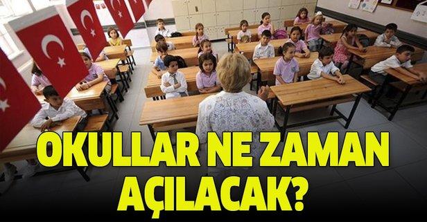 2019-2020 okullar ne zaman açılacak?