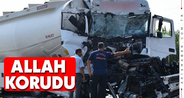 Denizlili Şoför Manisa'da Kaza Yaptı