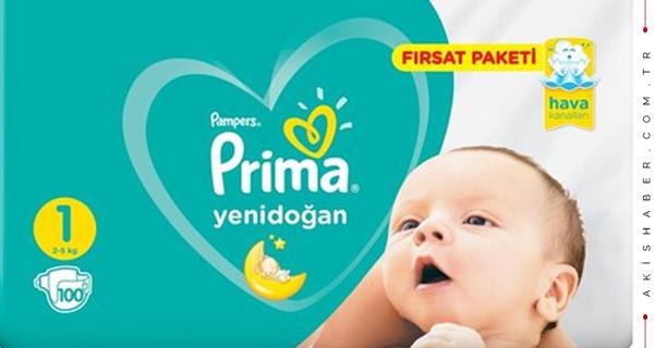 Prima Bebek Bezi İle Huzurlu Bebekler