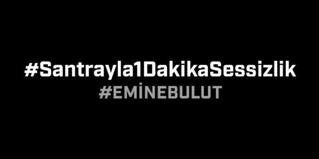 Beşiktaş'tan #Santrayla1DakikaSessizlik