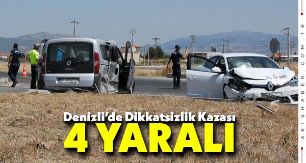 Feci Kazada 4 Kişi Yaralandı