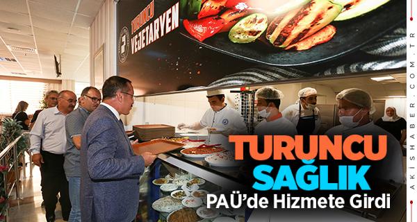 PAÜ'de ''Turuncu Vejetaryen'' Açıldı