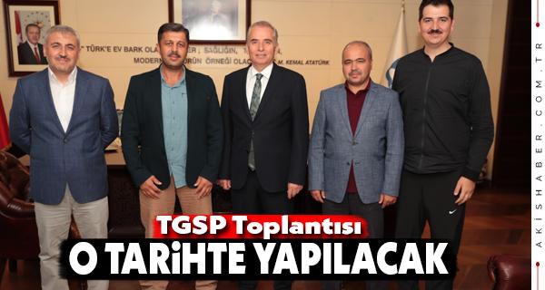 Başkan Zolan TGSP Başkanı Terzi'yi Ağırladı