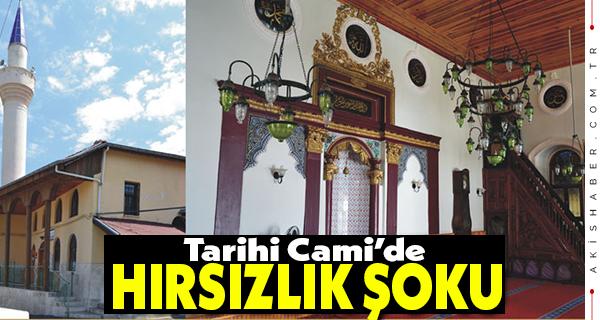 Denizli'de Camiyi Soyan Şahıs Kaçamadı