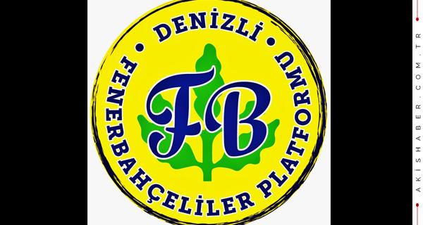 Denizli Fenerbahçeliler Platformu'ndan Takdirlik Hareket