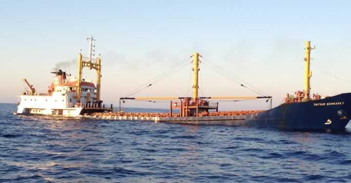 İtalya'da Bir Türk Gemisi Battı