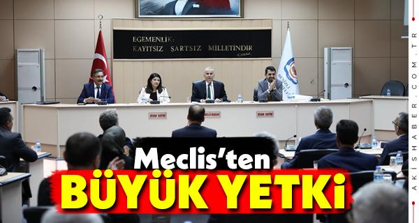 Belediye Meclisinden Önemli Karar