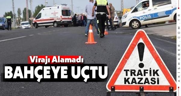 Denizli İzmir Yolunda Kaza: 1 Yaralı