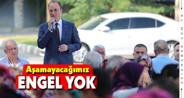 Başkan Örki Vatandaşlarla Kahvaltıda Buluştu