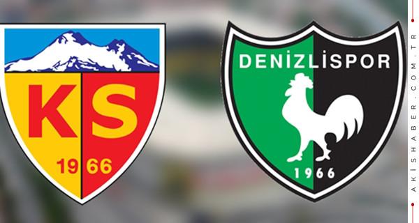 Kayserispor Denizlispor maçı ne zaman saat kaçta hangi kanalda?