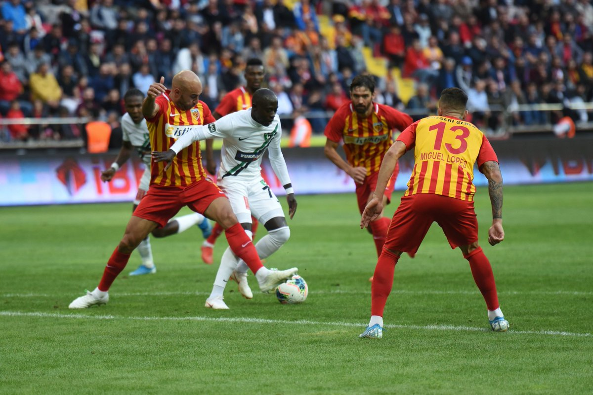 Horoz Kayseri'den puanı kaptı: 1-1