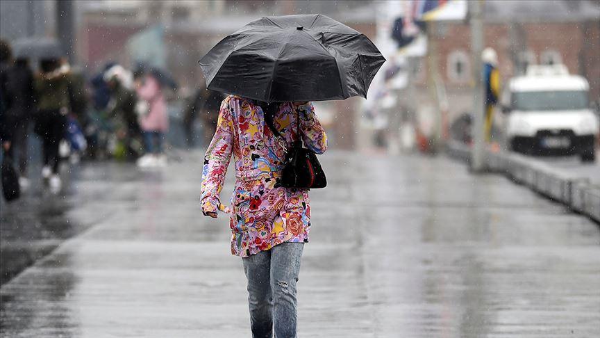 Meteoroloji'den gök gürültülü sağanak yağış uyarısı!