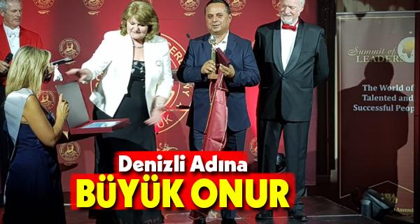 Başkan Akcan'a Cannes'tan Ödül