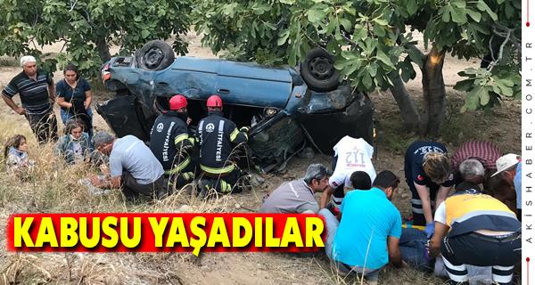 Denizli - Aydın Karayolunda Kaza: 6 Yaralı