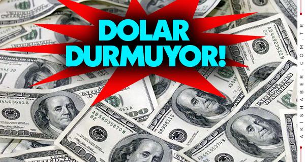 Dolar Yine Tırmanışa Geçti