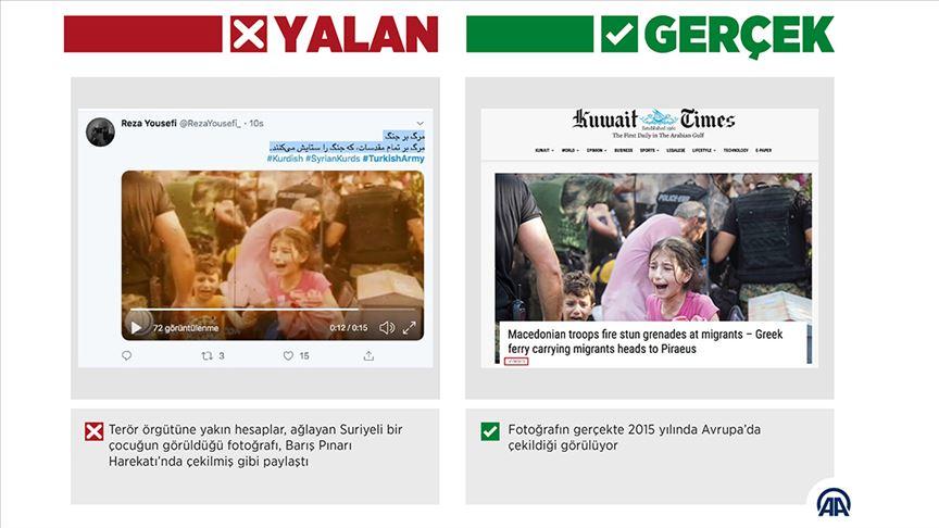 Barış Pınarı Harekatı'na sosyal medyadan manipülasyon