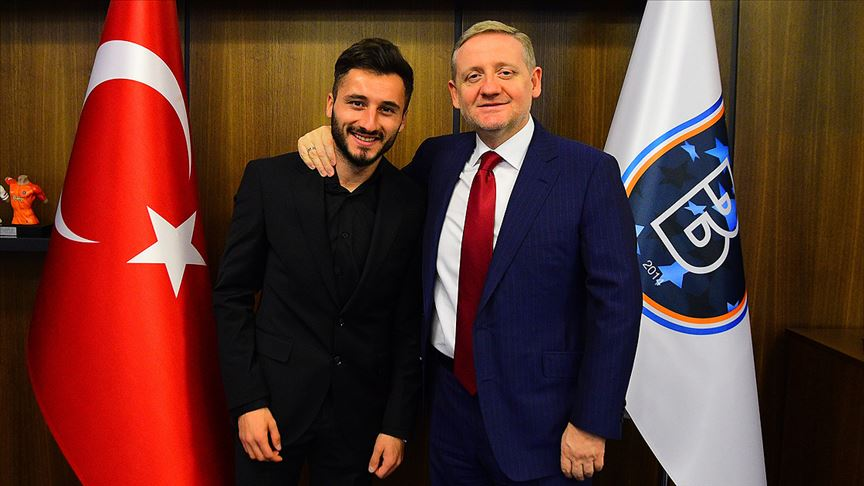 Enver Cenk Şahin'e Başakşehir'den destek