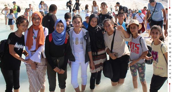Pamukkale'ye Hayran Kaldılar
