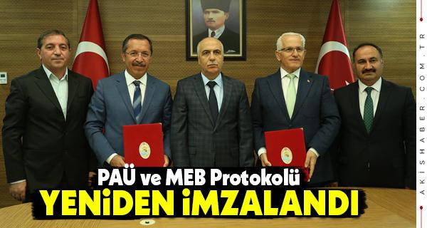 PAÜ ve MEB Protokolü 3 Yıl Geçerli Olacak