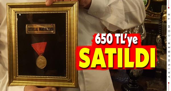 89 Senelik İstiklal Madalyası Açık Artırmada Satıldı